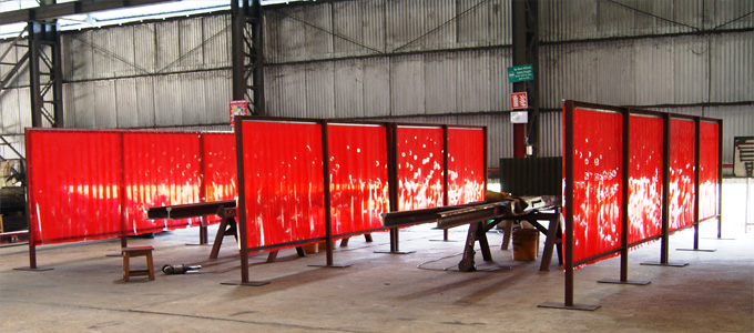 Weld Grade PVC Strip Curtains